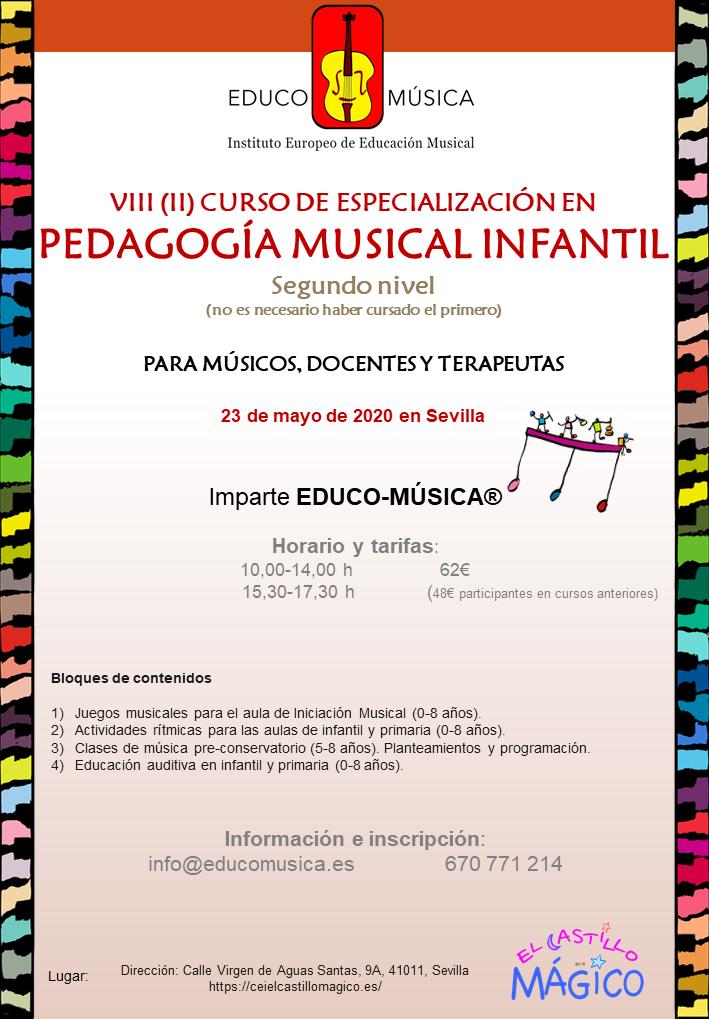 Especialización en Pedagogía Musical